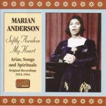 Marian Anderson: Softly Awakes My Heart, CD