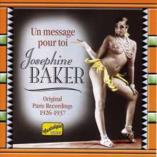 Josephine Baker: Un Message Pour Toi, CD