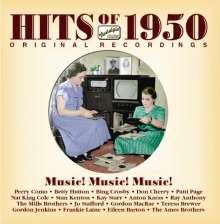 Hits Of 1950 - Music! Music! Music!, CD