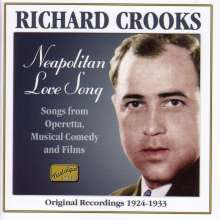 Richard Crooks: Neapolitan Love Song, CD