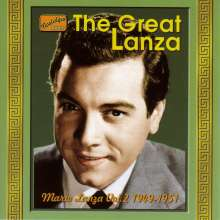 Mario Lanza: The Great Lanza Vol. 2, CD