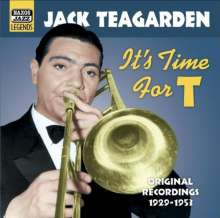Jack Teagarden (1905-1964): It's Time For T, CD