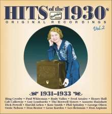 Hits Of The 1930s Vol. 2, CD