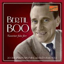 Bertil Boo: Favoriter Fran Forr 1946-54, CD