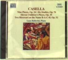 Alfredo Casella (1883-1947): Klavierwerke, CD