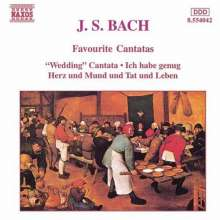 Johann Sebastian Bach (1685-1750): Kantaten BWV 82,147,202, CD