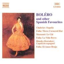 Bolero - Spanish Festival, CD