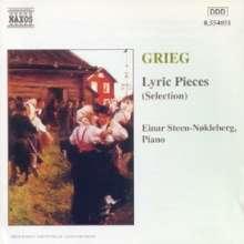 Edvard Grieg (1843-1907): 27 Lyrische Stücke, CD