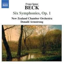 Franz Ignaz Beck (1734-1809): Sechs Sinfonien op.1, CD