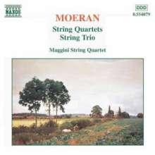 Ernest Moeran (1894-1950): Streichquartette in a & Es, CD
