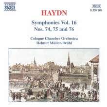 Joseph Haydn (1732-1809): Symphonien Nr.74-76, CD