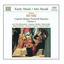 Tobias Hume (1569-1645): Poetickall Musicke (1607) Vol.1, CD
