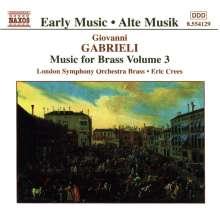 Giovanni Gabrieli (1557-1612): Canzoni & Sonate III, CD