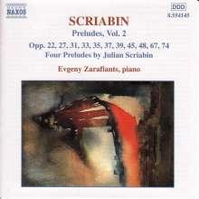 Alexander Scriabin (1872-1915): Preludes Vol.2, CD