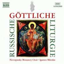 Russische Göttliche Liturgie, CD