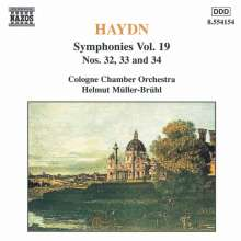 Joseph Haydn (1732-1809): Symphonien Nr.32-34, CD
