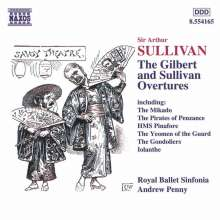 Arthur Sullivan (1842-1900): Ouvertüren, CD