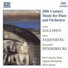 "Aulis Sallinen (geb. 1935): Flötenkonzert op.70 ""Harlekiini"", CD"