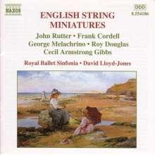 English String Miniatures 1, CD