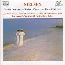 Carl Nielsen (1865-1931): Klarinettenkonzert op.57, CD