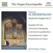 Heinrich Scheidemann (1596-1663): Sämtliche Orgelwerke Vol.2, CD