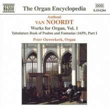 Anthoni van Noordt (1619-1675): Orgelwerke Vol.1, CD