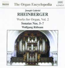 Josef Rheinberger (1839-1901): Sämtliche Orgelwerke Vol.2, CD
