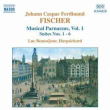Johann Caspar Ferdinand Fischer (1656-1746): Musicalischer Parnassus Vol.1, CD