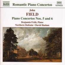 John Field (1782-1837): Klavierkonzerte Nr.5 & 6, CD