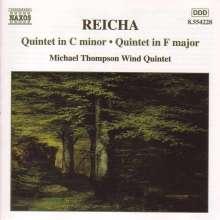 Anton Reicha (1770-1836): Bläserquintette op.88,6 & op.91,6, CD