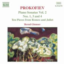 Serge Prokofieff (1891-1953): Klaviersonaten Nr.1,3,4, CD