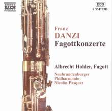 Franz Danzi (1763-1826): Fagottkonzerte Nr.1 & 2, CD