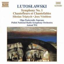 Witold Lutoslawski (1913-1994): Symphonie Nr.1, CD