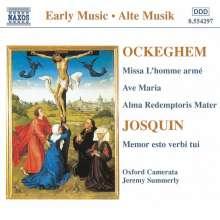 """Johannes Ockeghem (1430-1497): Missa """"L'homme arme"""", CD"""