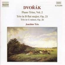 Antonin Dvorak (1841-1904): Klaviertrios Nr.1 & 2 (op.21 & 26), CD