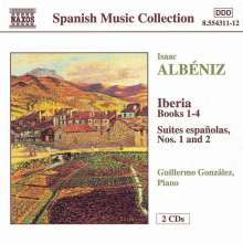 Isaac Albeniz (1860-1909): Iberia (Klavier-Fass.), 2 CDs