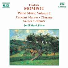 Federico Mompou (1893-1987): Klavierwerke Vol.1, CD