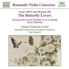 Takako Nishizaki - The Butterfly Lovers, CD