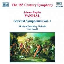 Johann Baptist (Jan Krtitel) Vanhal (1739-1813): Symphonien Vol.1, CD