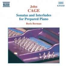John Cage (1912-1992): Sonaten & Interludien für präpariertes Klavier, CD