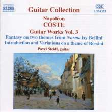 Napoleon Coste (1806-1883): Gitarrenwerke Vol.3, CD