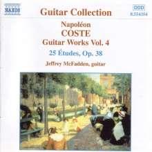 Napoleon Coste (1806-1883): Gitarrenwerke Vol.4, CD