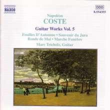 Napoleon Coste (1806-1883): Gitarrenwerke Vol.5, CD