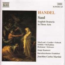 Georg Friedrich Händel (1685-1759): Saul, 3 CDs