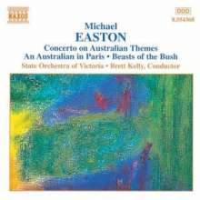 Michael Easton (geb. 1954): Concerto on Australian Themes, CD