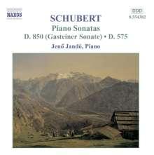 Franz Schubert (1797-1828): Klaviersonaten D.575 & 850, CD