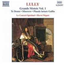 Jean-Baptiste Lully (1632-1687): Grosse Motetten Vol.1, CD