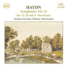 Joseph Haydn (1732-1809): Symphonien Nr.27,28,31, CD