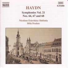 Joseph Haydn (1732-1809): Symphonien Nr.66-68, CD
