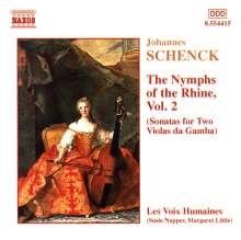 "Johannes Schenck (1656-1712): Sonaten op.8 Nr.7-12 für 2 Gamben ""Le Nymphe di Rheno"", CD"